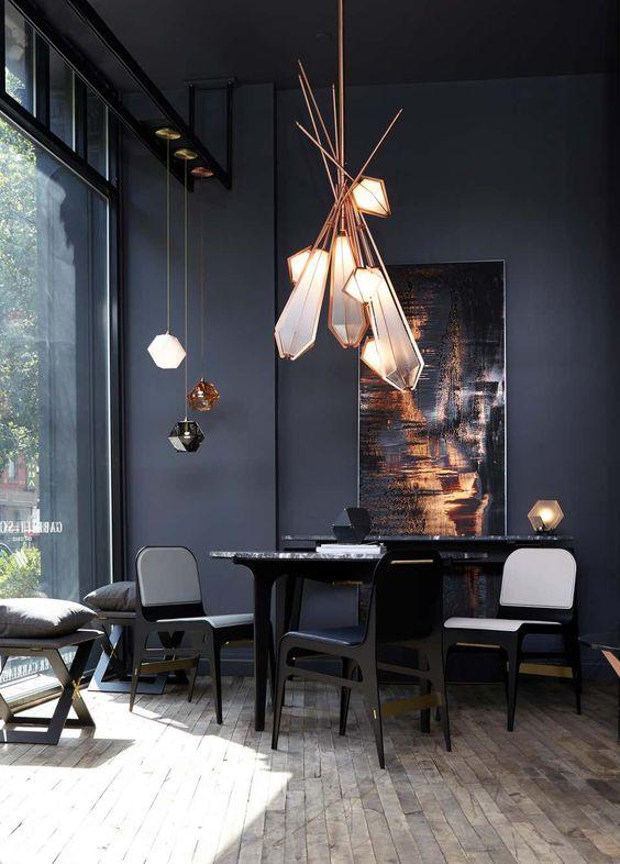 Black Dining Room Ideas 5