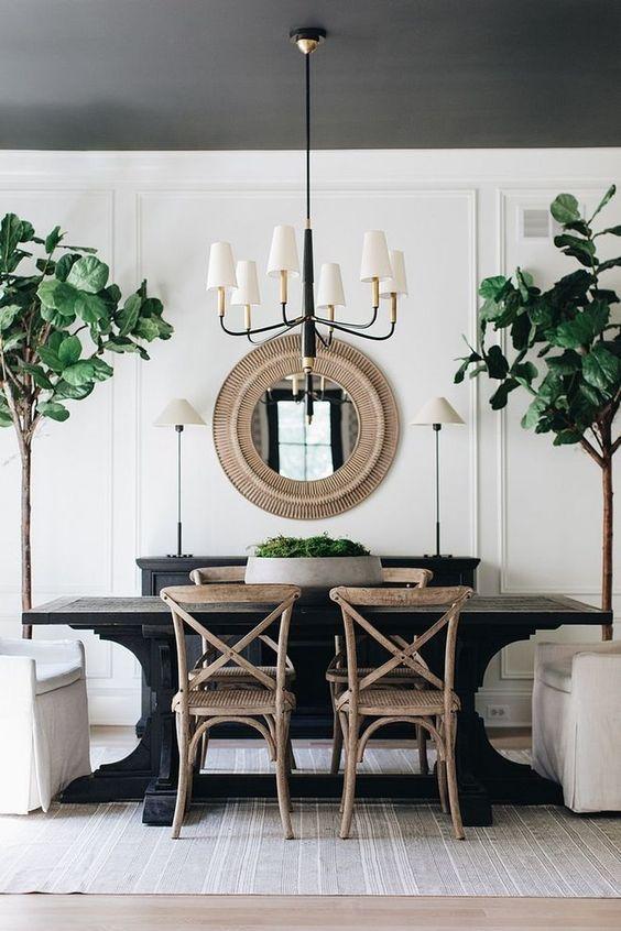 Black Dining Room Ideas 6
