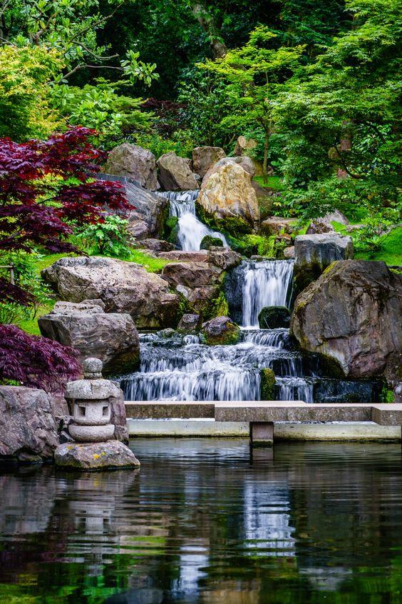 Backyard Waterfall Ideas 13