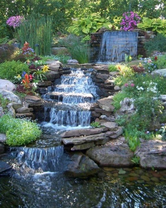 Backyard Waterfall Ideas 5