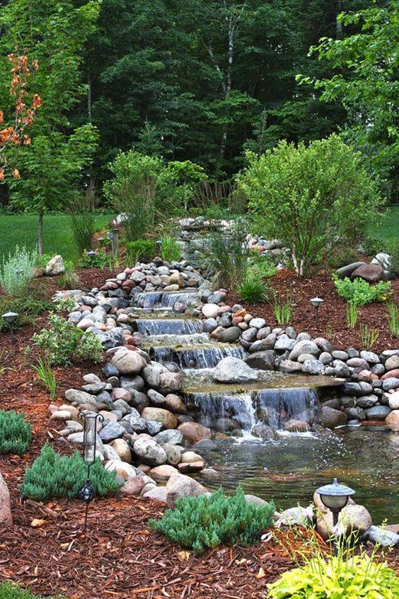 Backyard Waterfall Ideas 6