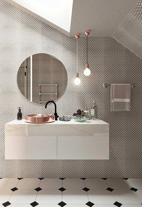 Bathroom Lighting Ideas: Attractive Simple Pendants