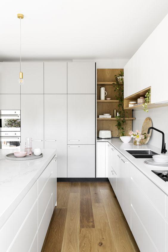 Kitchen Corner Ideas: Rustic Corner Spot