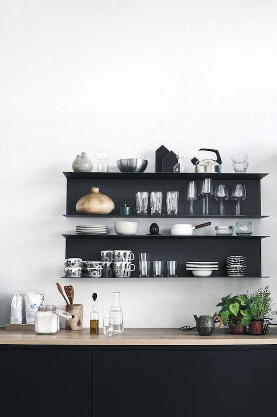 Kitchen Wall Ideas: Stunning Monochromatic Schemes