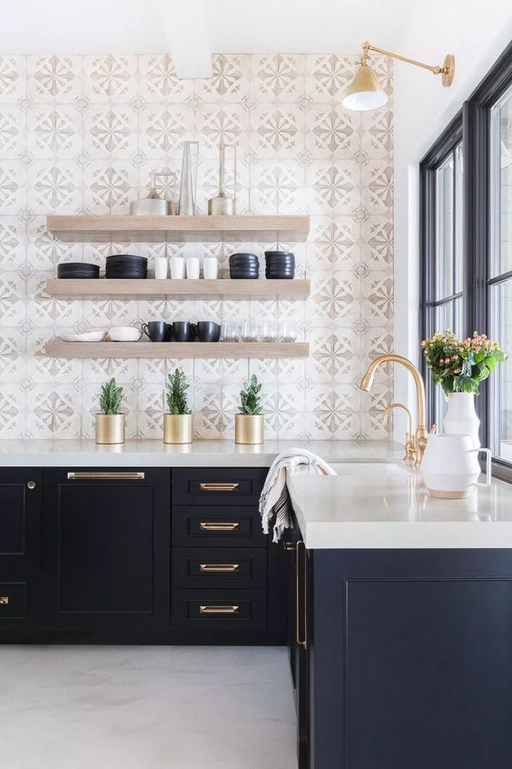 Kitchen Wall Ideas: Decorative Tiles Background