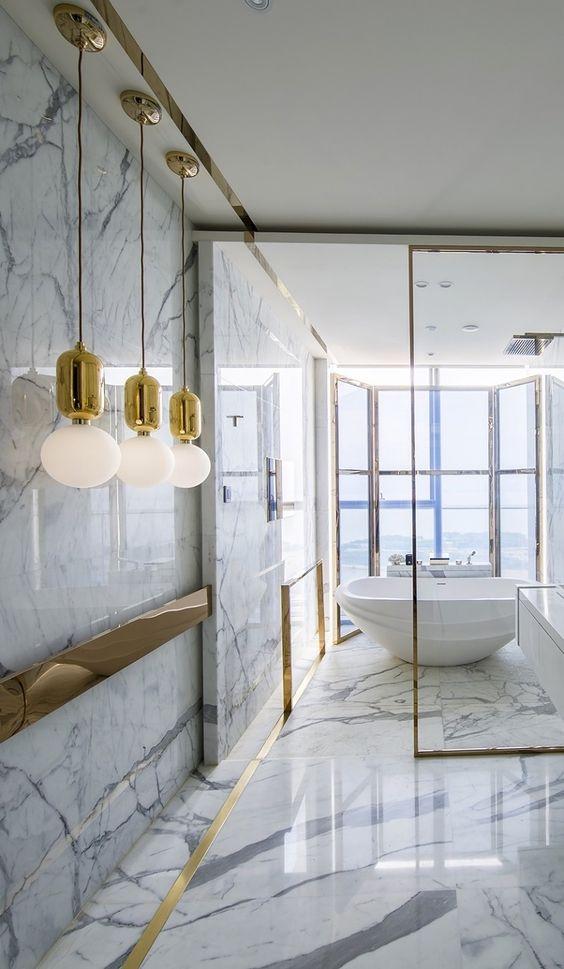 Luxury Bathroom Ideas: Breathtaking Modern Concept
