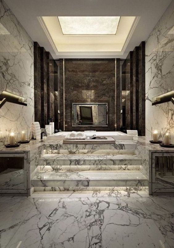 Luxury Bathroom Ideas: Jaw-Dropping Black and White