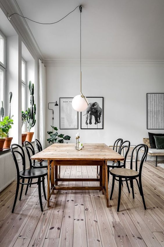 Simple Dining Room Ideas 23