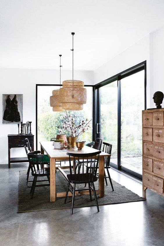 Simple Dining Room Ideas 24
