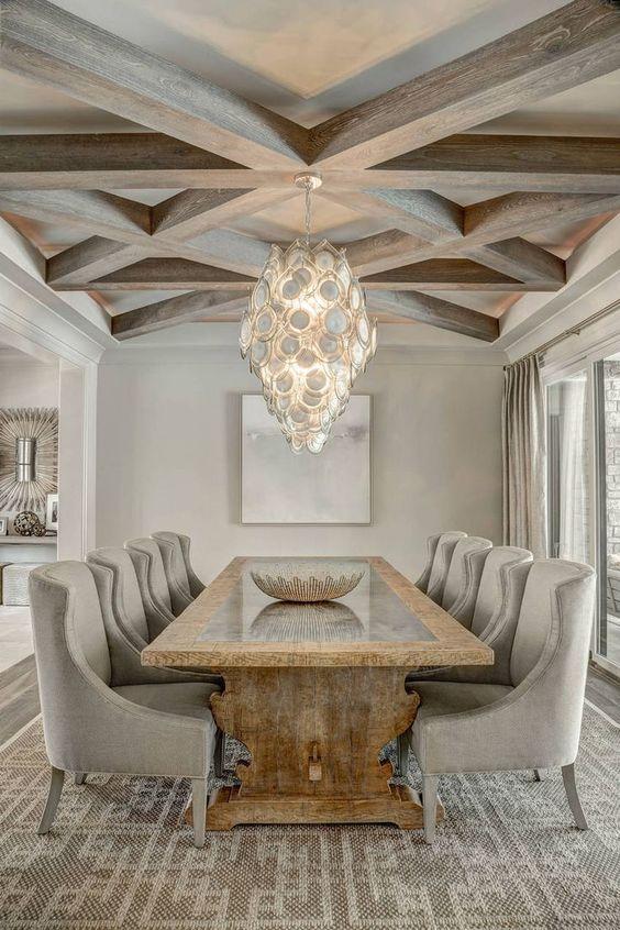 Formal Dining Room Ideas: Modern Farmhouse Concept