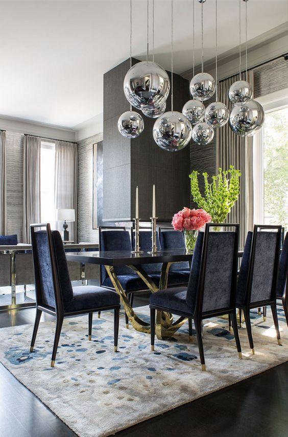 Formal Dining Room Ideas: Striking Contemporary Design