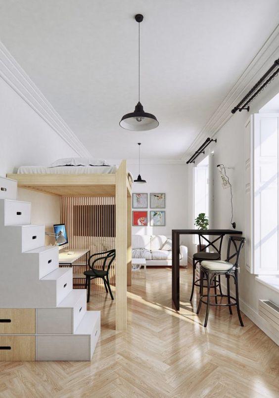 Loft Bedroom Ideas 14