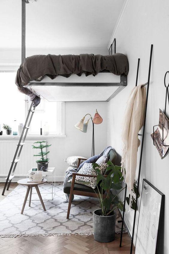 Loft Bedroom Ideas: Eye-Catching Loft Bedroom
