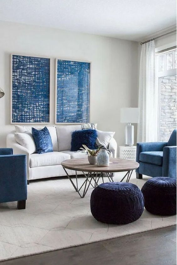 Navy Living Room Ideas Beautiful Inspirations For Elegant Ambiance Stunhome Com