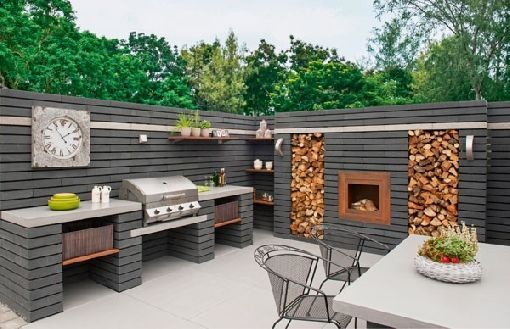 Backyard Kitchen Ideas