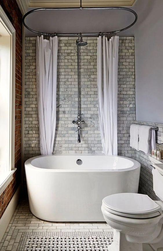 Bathroom Bathtub Ideas: Small Standard Tub