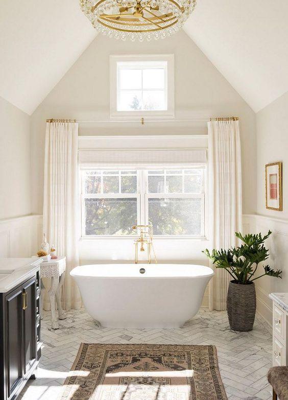Bathroom Bathtub Ideas: Simple Small Tub
