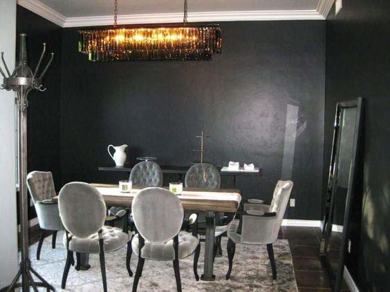 Dark Dining Room Ideas