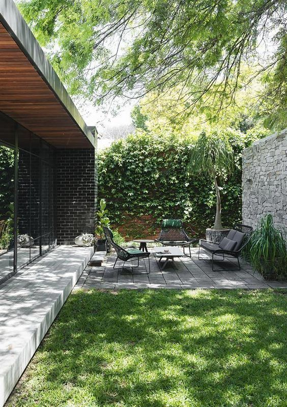 Backyard Landscaping Ideas: Cozy Seating Area