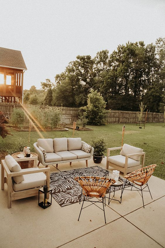 Boho Backyard Ideas: Stylish Modern Decor