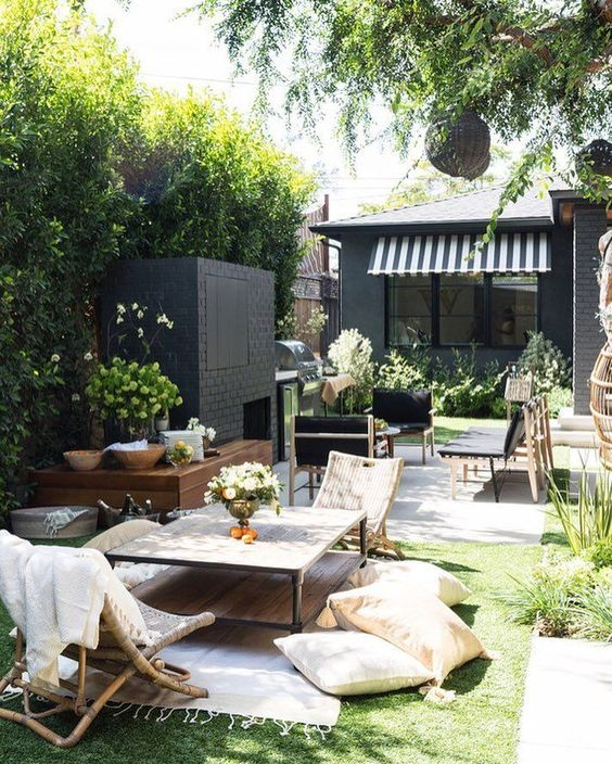 Boho Backyard Ideas: Cozy Elegant Layout