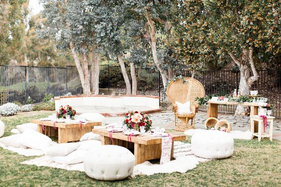 Boho Backyard Ideas