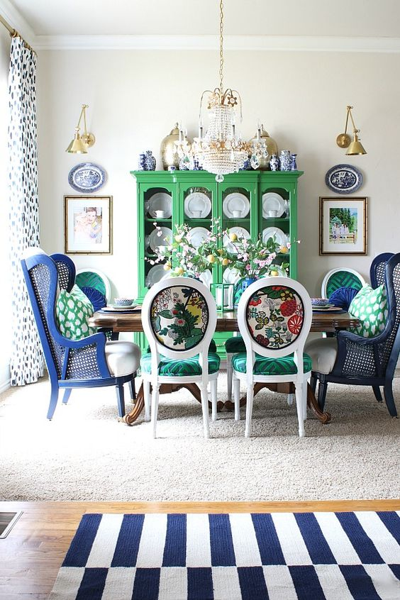 Dining Room Colors Ideas: Classic Country