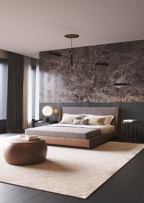 Modern Bedroom Ideas: Romantic Accents