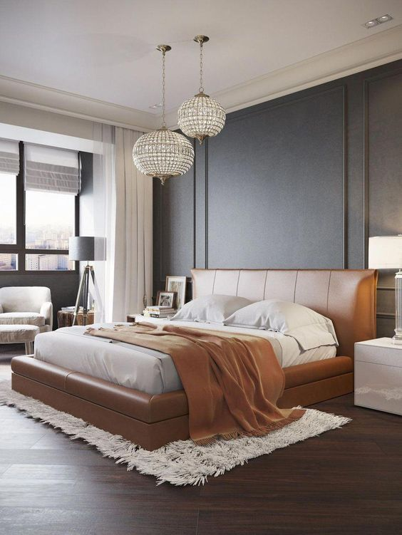 Modern Bedroom Ideas: Earthy Platform Bed