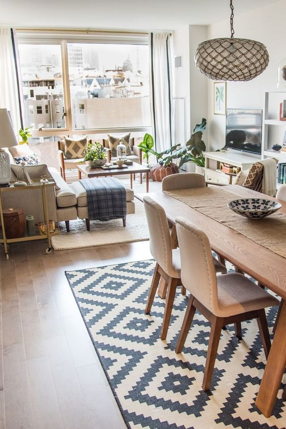 Open Dining Room Ideas: Stunning Earthy Nuance