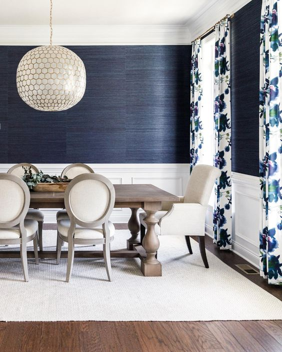 Navy Dining Room Ideas: Chic Navy Decor