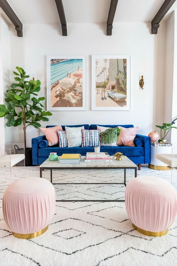 Traditional Living Room: Chic and Sleek