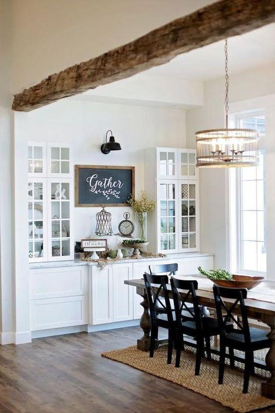 Rustic Dining Room Ideas: Elegant Dining Room