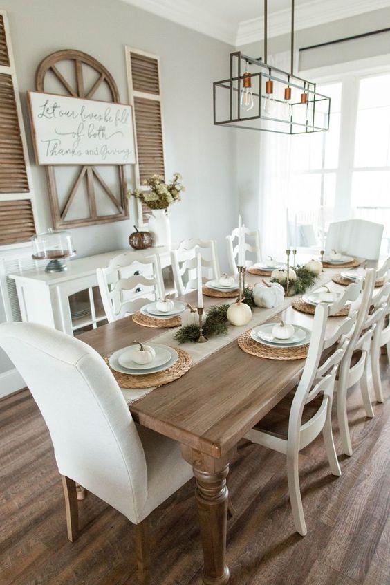 Rustic Dining Room Ideas: Warm Earthy Decor
