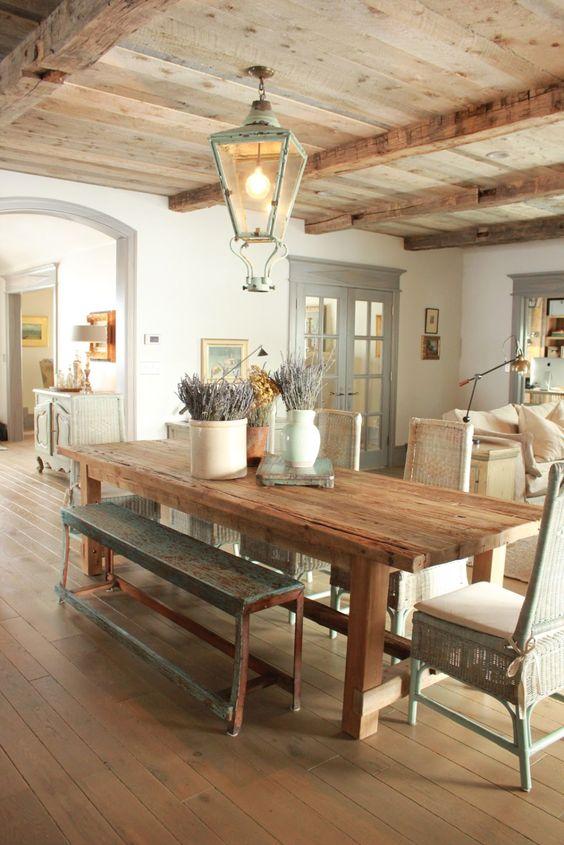 Rustic Dining Room Ideas: Rustic Vintage