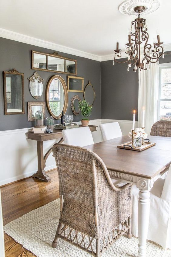 Rustic Dining Room Ideas: Stunning Modern Look