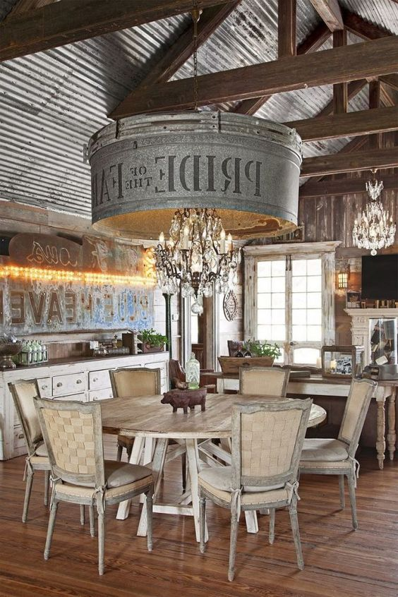Rustic Dining Room Ideas: Perfect Rustic Concept
