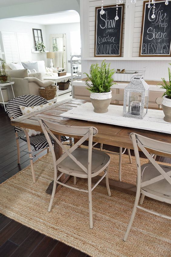 Rustic Dining Room Ideas: Warm Earthy Vibe