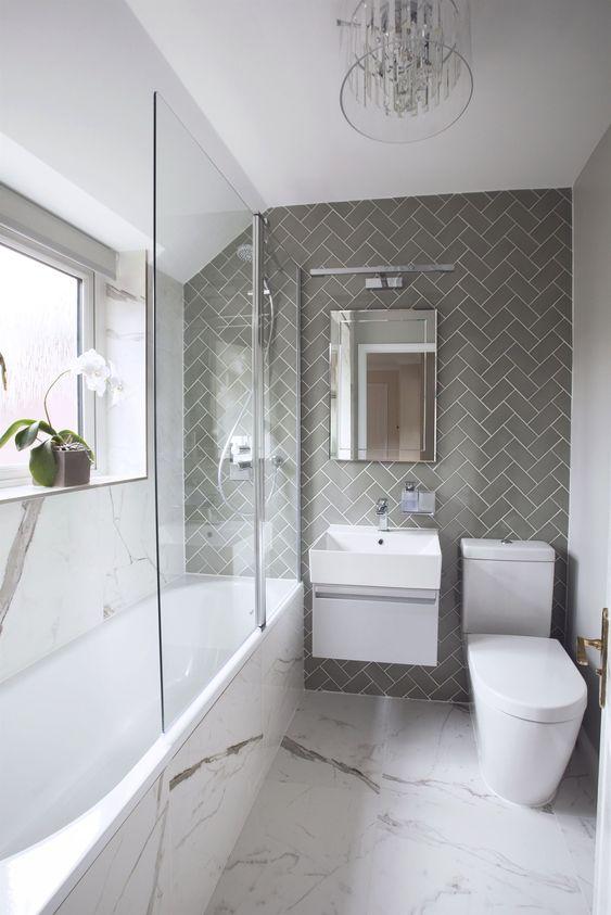 Small Bathroom Ideas: Chic Petite Bathroom