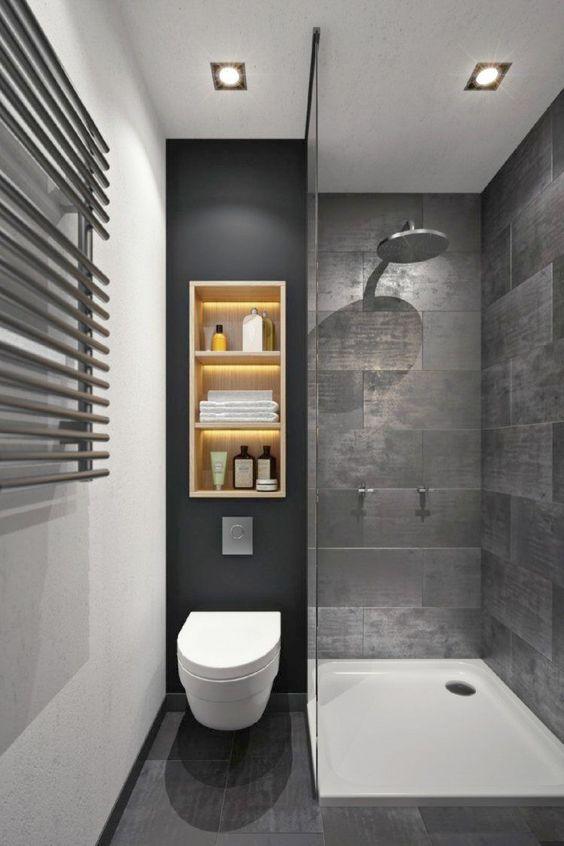 Small Bathroom Ideas: Minimalist Modern Look