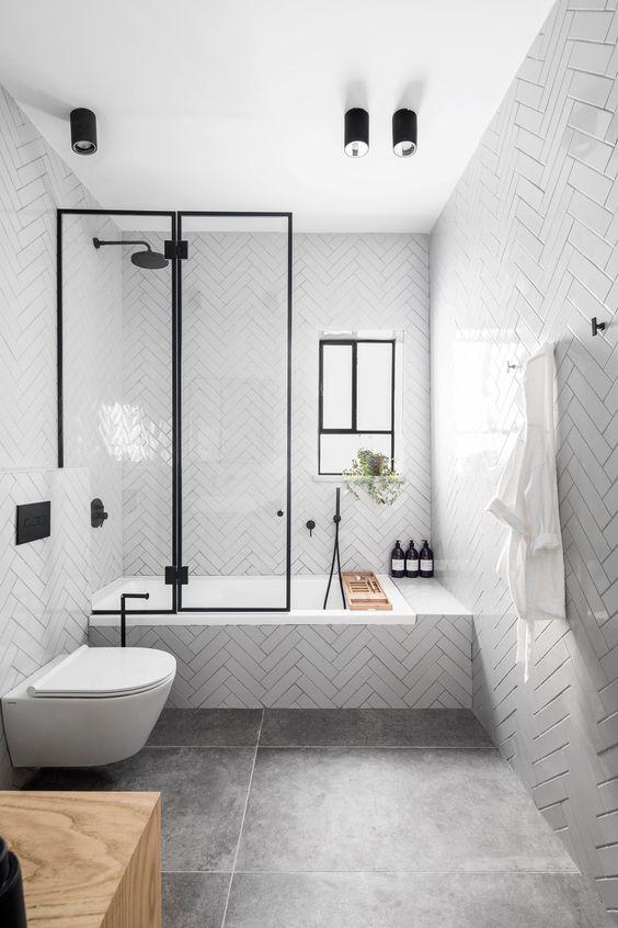 Small Bathroom Ideas: Sleek Minimalist Decor