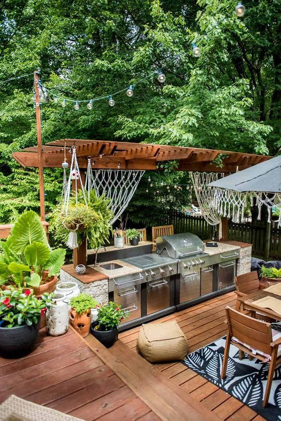 Backyard Grill Ideas 4