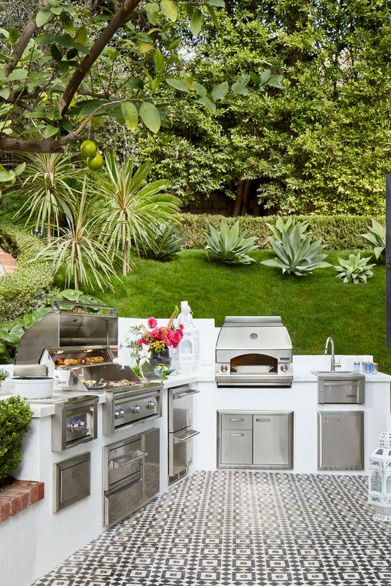Backyard Grill Ideas 8