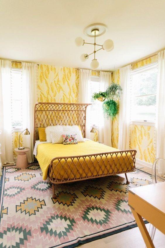 Yellow Bedroom Ideas 6